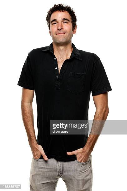 Confident Man With Hands In Pockets