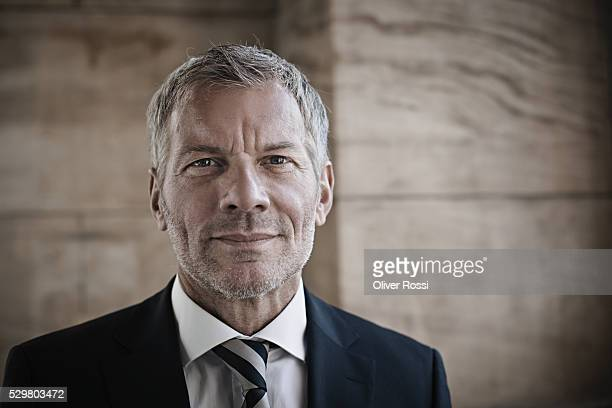 Confident mature businessman, portrait