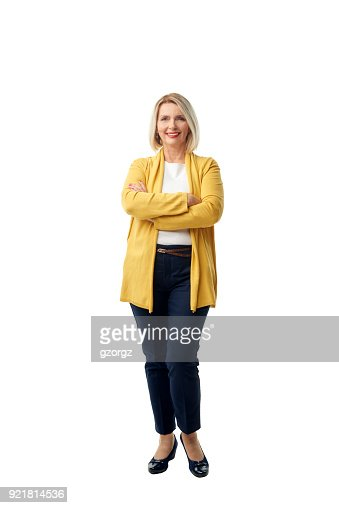 Confident mature woman portrait : Stock Photo