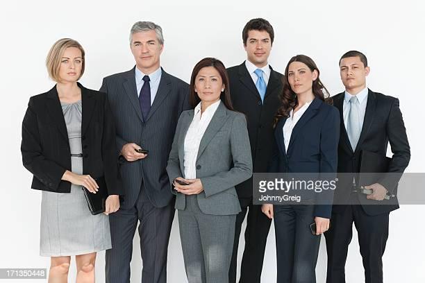 Zuversichtlich Business-Team multikulturelles