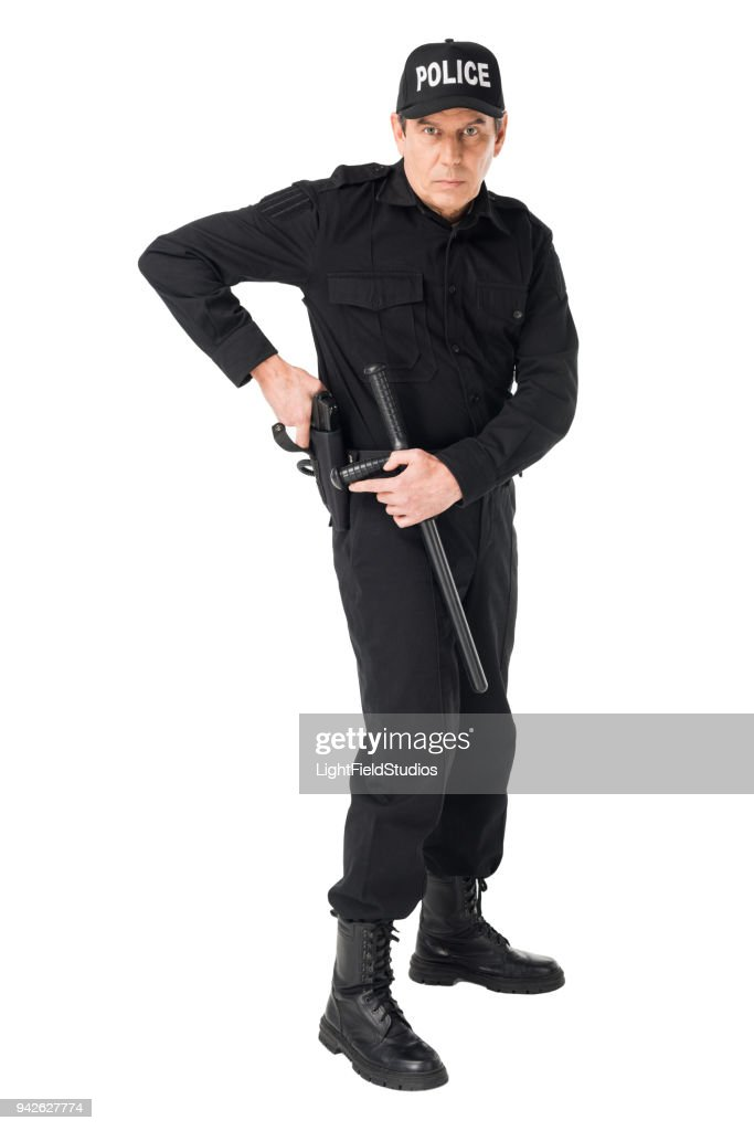 Picture of policeman in uniform