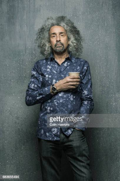 Confident Senior Male with paper Coffee Cup
