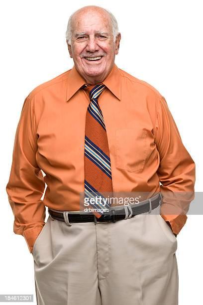 Confident Senior Man