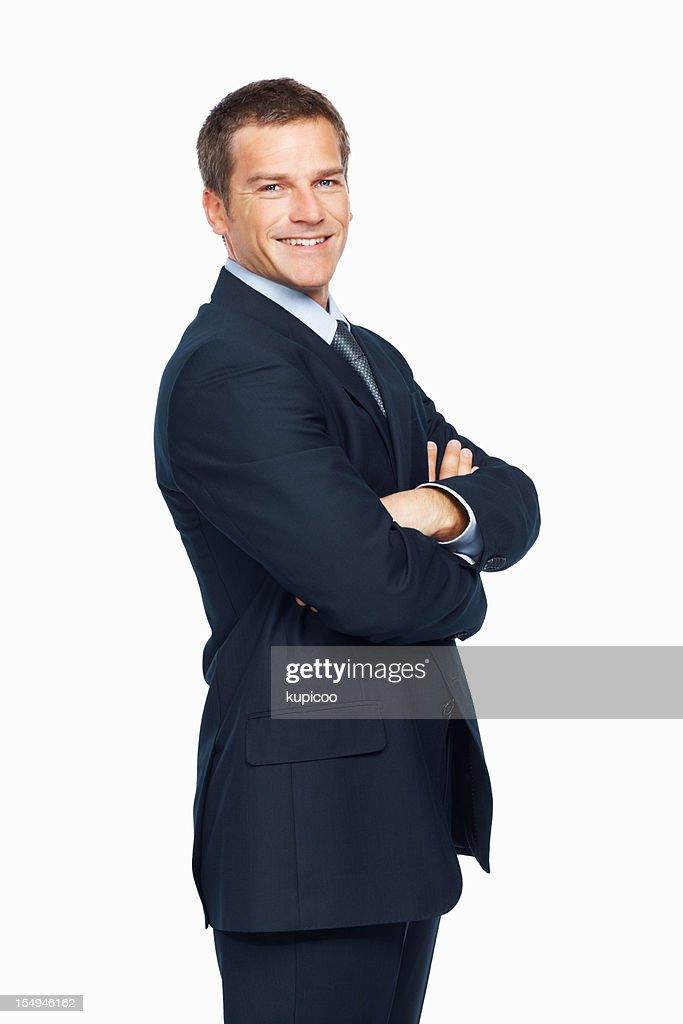 Confident, smart businessman : Stock Photo