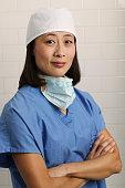 Confident Surgeon in Operating Room