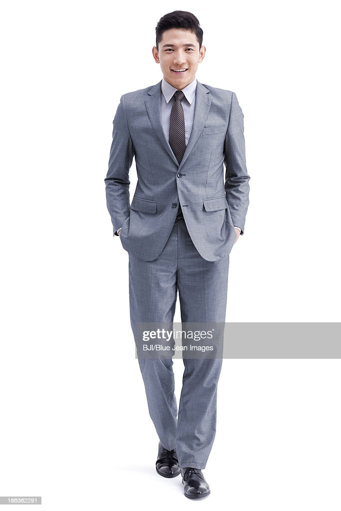 Confident young businessman : Stock Photo