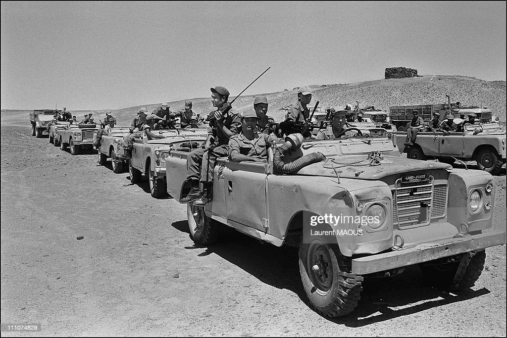 Le conflit armé du sahara marocain - Page 8 Conflict-in-the-western-sahara-in-laayoune-morocco-on-april-02nd-1980-picture-id111074829