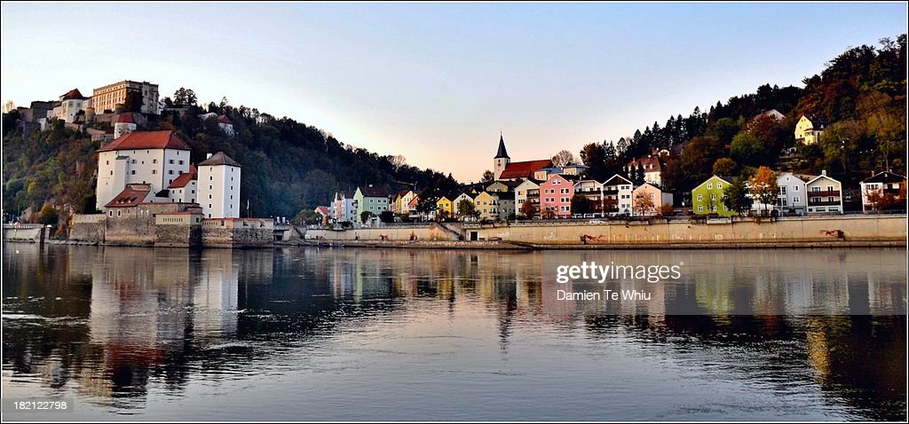 Confluence of Rivers at Passau