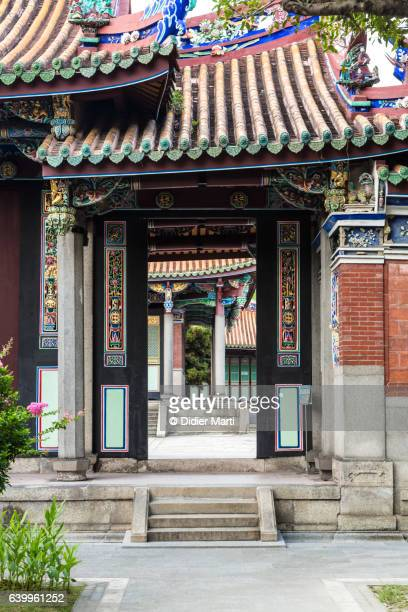 Confucius Temple in Taipei, the capital city of Taiwan