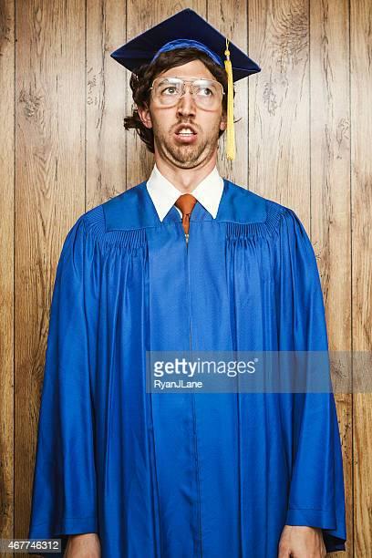 Confused Graduation Nerd