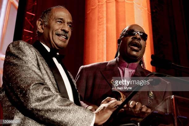 Cong John Conyers Michigan and Stevie Wonder Victory Award Honoree