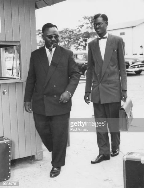 Congolese independence leader Patrice Lumumba circa 1959