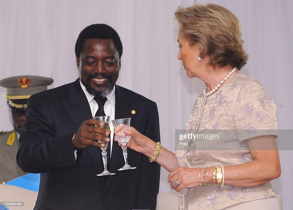 King Albert II of Belgium State Visit in Democratic Republic of Congo