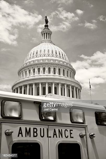 U.S. Congress and Affordable Care Act concept shot