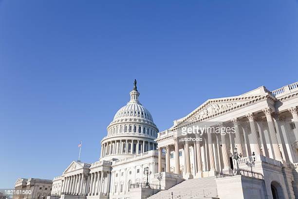 U S Congress famous Capitol Building