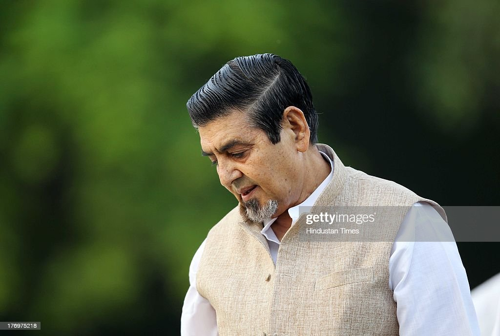 Congress leader Jagdish Tytler pays tribute to former Indian Prime Minister Rajiv Gandhi on his birth anniversary at his memorial on August 20, 2013 in New Delhi, India. Rajiv Gandhi, who heralded the information and communication technology revolution in the country, was born on August 20, 1944 and served as the sixth Prime Minister of India from 1984-1989. He was assassinated by the LTTE on May 21, 1991 at Sriperumbudur in Tamil Nadu while addressing an election campaign.