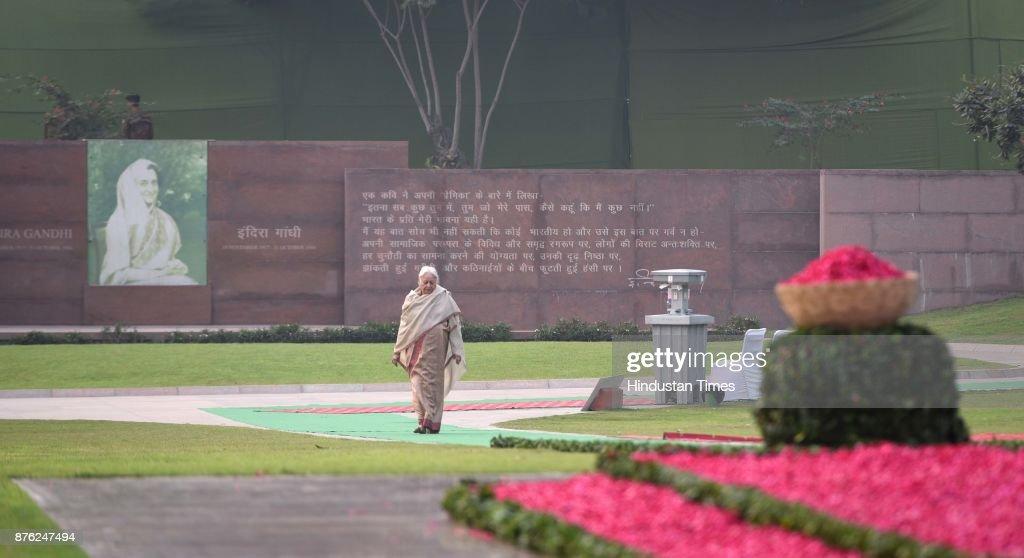 100th Birth Anniversary Of Former Prime Minister Of Indira Gandhi