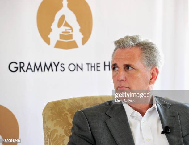 S Congress member Kevin McCarthy during Music Policy and the US Congress An Insider's Briefing A GRAMMY Townhall at The Wilshire Ebell Theatre on...