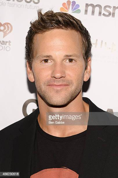 Congressman Aaron Schock attends the 2014 Global Citizen Festival to end extreme poverty by 2030 at Central Park on September 27 2014 in New York City
