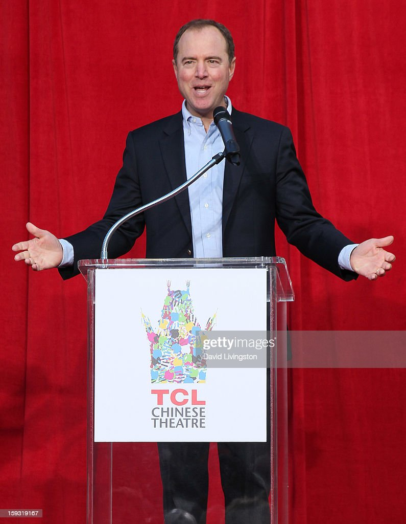 Congressman Adam Schiff attends the renaming of Grauman's Chinese Theatre to the TCL Chinese Theatre at the Chinese Theatre on January 11, 2013 in Hollywood, California.