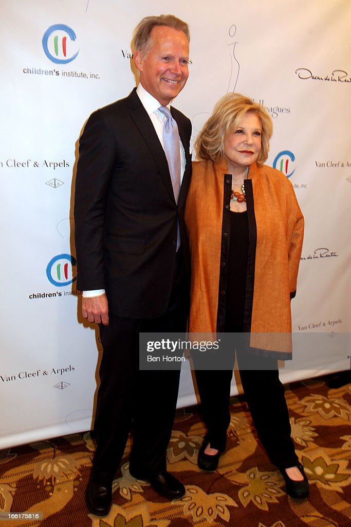 Congressman David Dreier and philanthropist Wallis Annenberg attend The Colleagues' 25th annual spring luncheon honoring Wallis Annenberg at the Beverly Wilshire Four Seasons Hotel on April 9, 2013 in Beverly Hills, California.