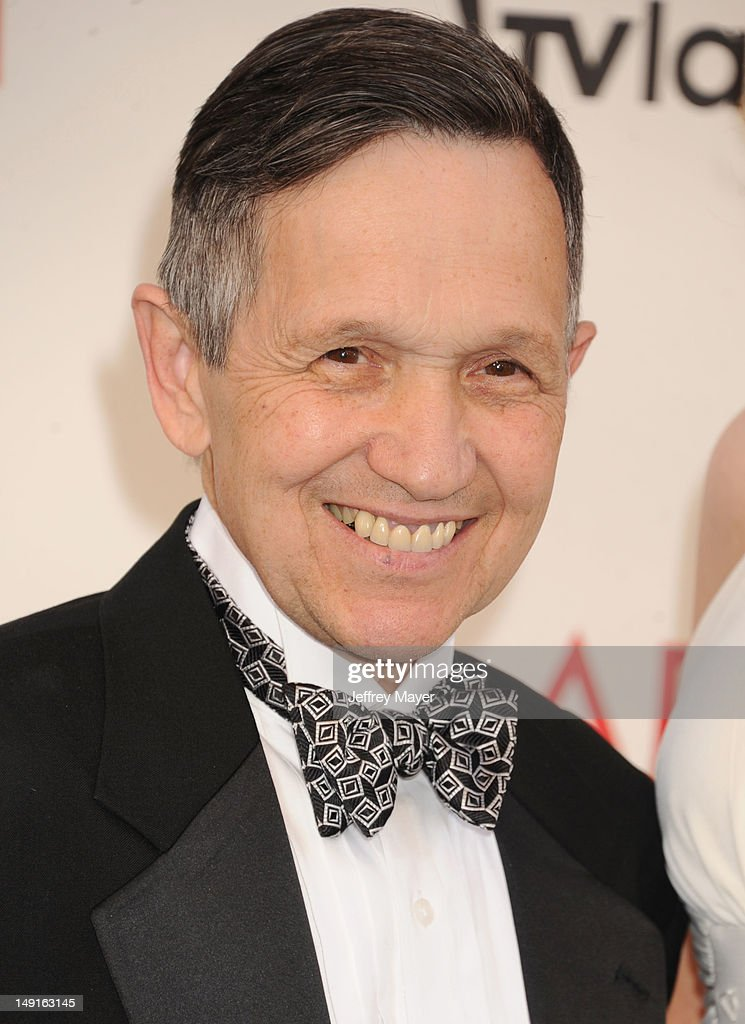 S Congressman Dennis Kucinich and Elizabeth Kucinich arrive at the 40th AFI Life Achievement Award honoring Shirley MacLaine at Sony Pictures Studios...