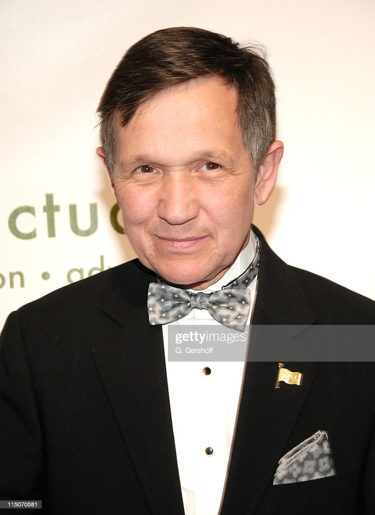 Congressman Dennis Kucinich arrives to the 2008 Farm Sanctuary Gala for Farm Animals at Cipriani Wall Street on May 17 2008 in New York City