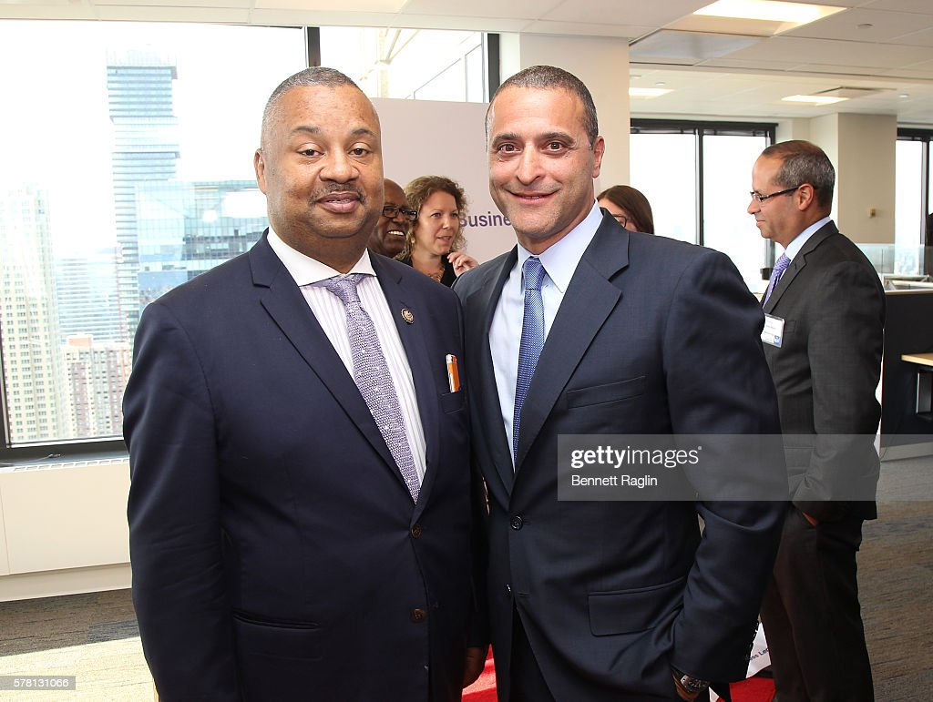 world business lenders ribbon cutting in jersey city photos and u s congressman donald payne jr and doug naidus ceo world business lenders attend