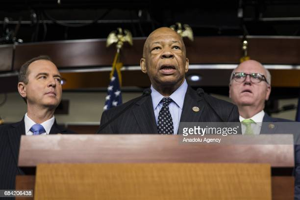 Congressman Elijah Cummings speaks out against President Trumps handling of the firing of James Comey and his alleged attempted influence of the...