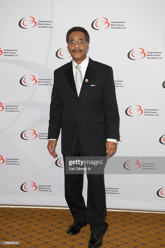 Congressman <a gi-track='captionPersonalityLinkClicked' href=/galleries/search?phrase=Emanuel+Cleaver&family=editorial&specificpeople=754349 ng-click='$event.stopPropagation()'>Emanuel Cleaver</a> II attends the Congressional Black Caucus 2013 Inauguration Celebration at Capital Hilton on January 21, 2013 in Washington, United States.
