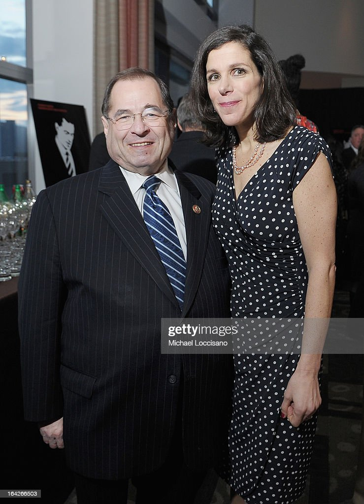 Congressman <a gi-track='captionPersonalityLinkClicked' href=/galleries/search?phrase=Jerrold+Nadler&family=editorial&specificpeople=807892 ng-click='$event.stopPropagation()'>Jerrold Nadler</a> and filmmaker <a gi-track='captionPersonalityLinkClicked' href=/galleries/search?phrase=Alexandra+Pelosi&family=editorial&specificpeople=234453 ng-click='$event.stopPropagation()'>Alexandra Pelosi</a> attend the New York premiere of the HBO documentary Fall to Grace at Time Warner Center Screening Room on March 21, 2013 in New York City.