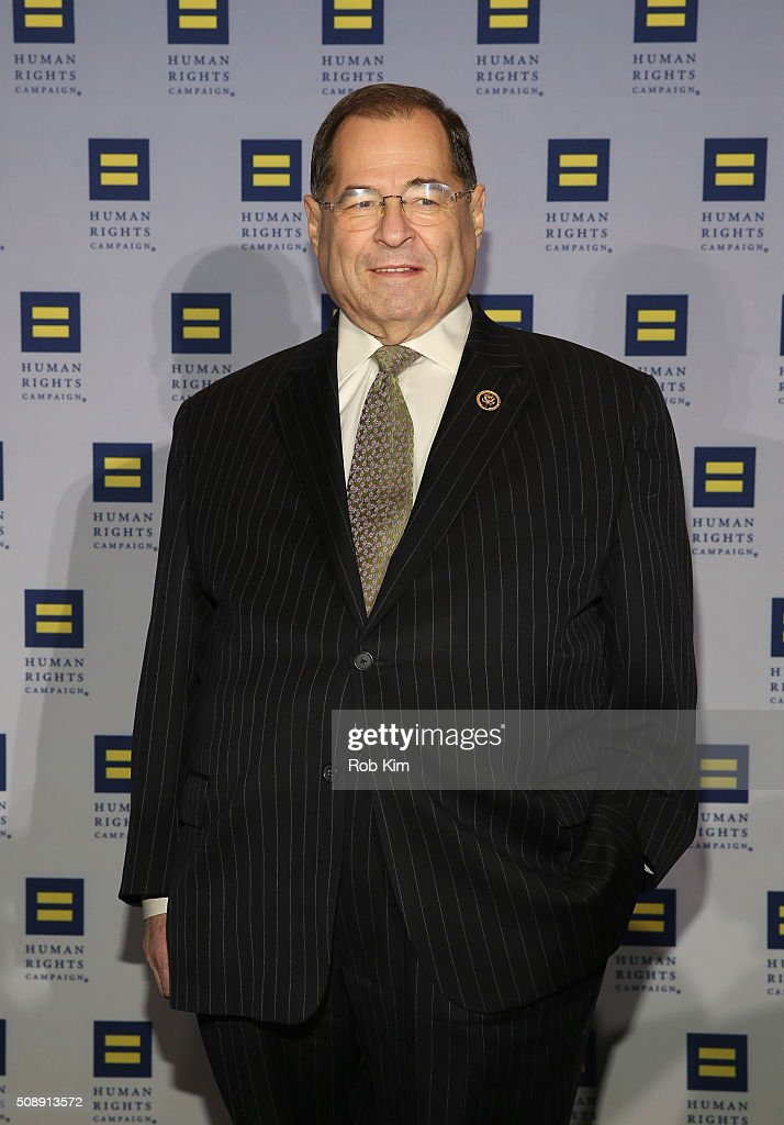 Congressman Jerry Nadler attends 2016 Human Rights Campaign New York Gala Dinner at The Waldorf=Astoria on February 6, 2016 in New York City.
