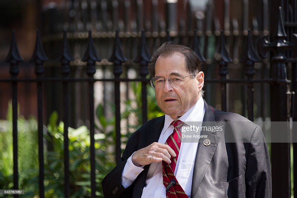 Congressman Jerry Nadler (D-NY), who helped lead the effort to establish the Stonewall Inn as a national monument, walks near Christopher Park across the street from the Stonewall Inn on June 24, 2016 in New York City. President Barack Obama designated Stonewall Inn and approximately 7.7 acres surrounding it, including Christopher Park, as the first national monument dedicated 'to tell the story of the struggle for LGBT rights.' The tavern is considered the birthplace of the modern gay rights movement, where patrons fought back against police persecution in 1969.