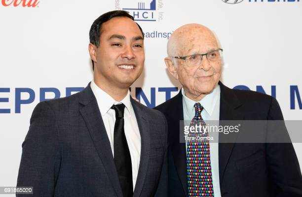 Congressman Joaquin Castro and writer/producer Norman Lear attend CHCI Honors Norman Lear Then And Now A Transformative Conversation at City Club Los...