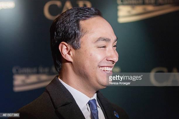 Congressman Joaquin Castro attends the 'Spare Parts' screening at Landmark E Street Cinema on January 13 2015 in Washington DC