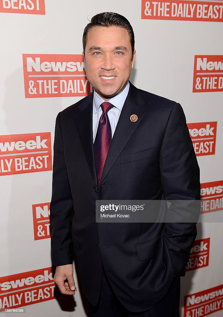 Congressman Michael Grimm (R-NY) attends The Daily Beast Bi-Partisan Inauguration Brunch at Cafe Milano on January 20, 2013 in Washington, DC.