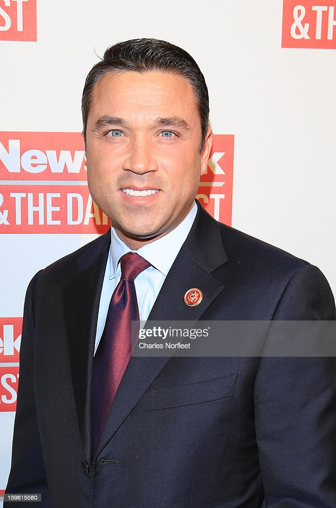 Congressman Michael Grimm attends The Daily Beast BiPartisan Inauguration Brunch at Cafe Milano on January 20 2013 in Washington DC