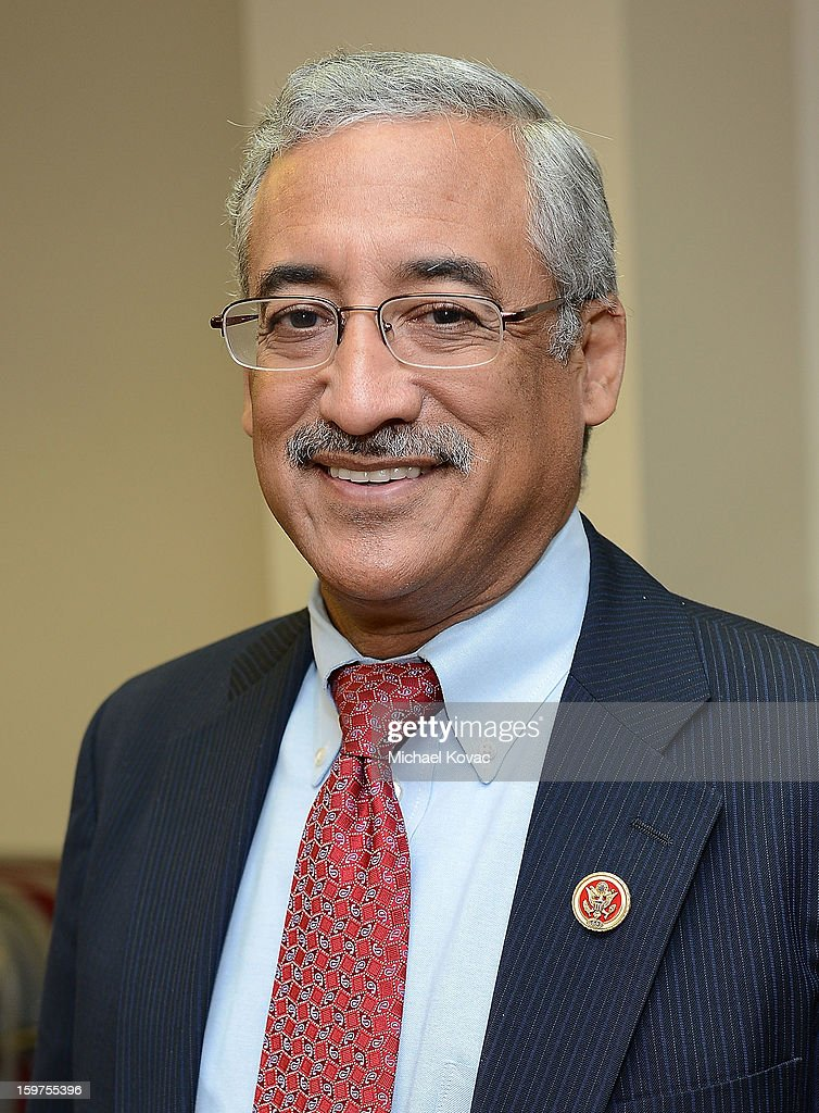 Congressman Robert C. 'Bobby' Scott (D-VA) attends 'The House I Live In' Washington DC screening at Shiloh Baptist Church on January 19, 2013 in Washington, DC.