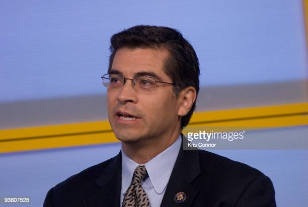 Congressman Xavier Becerra speaks during the Characters Unite National Town Hall at the NEWSEUM on December 2 2009 in Washington DC