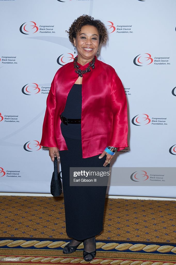 Congresswoman Barbera Lee attends the Congressional Black Caucus 2013 Inauguration Celebration at Capital Hilton on January 21, 2013 in Washington, United States.