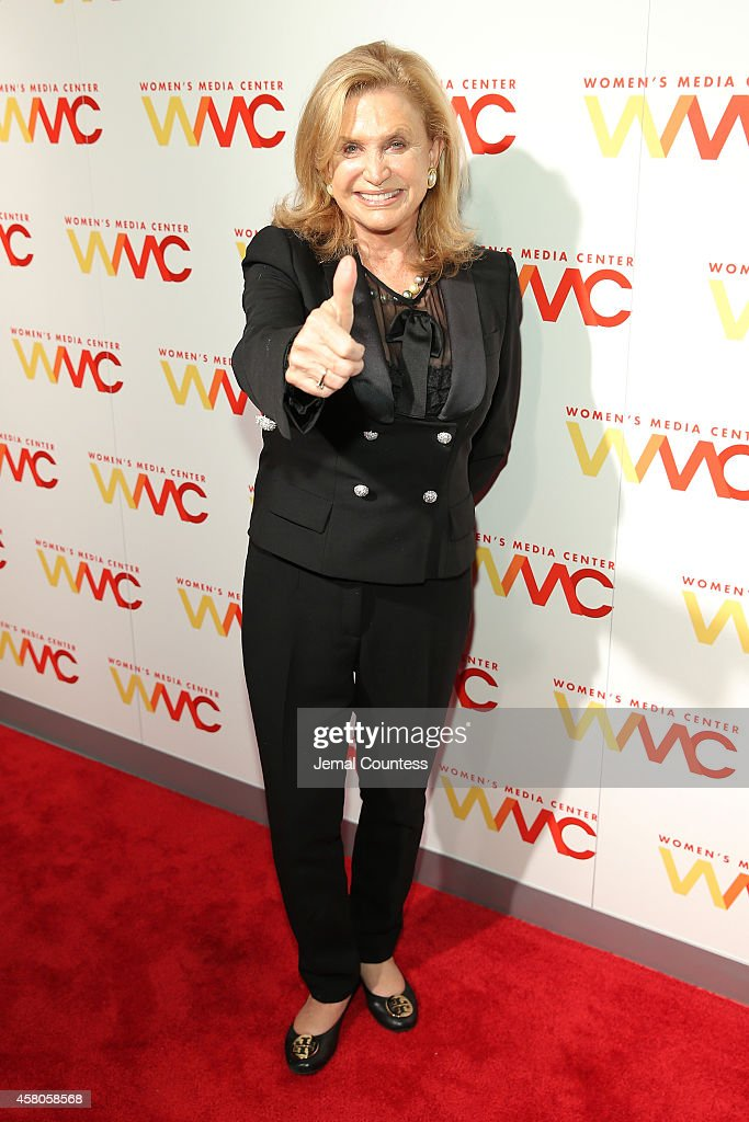 Congresswoman Carolyn Maloney attends the 2014 Women's Media Awards at Capitale on October 29, 2014 in New York City.