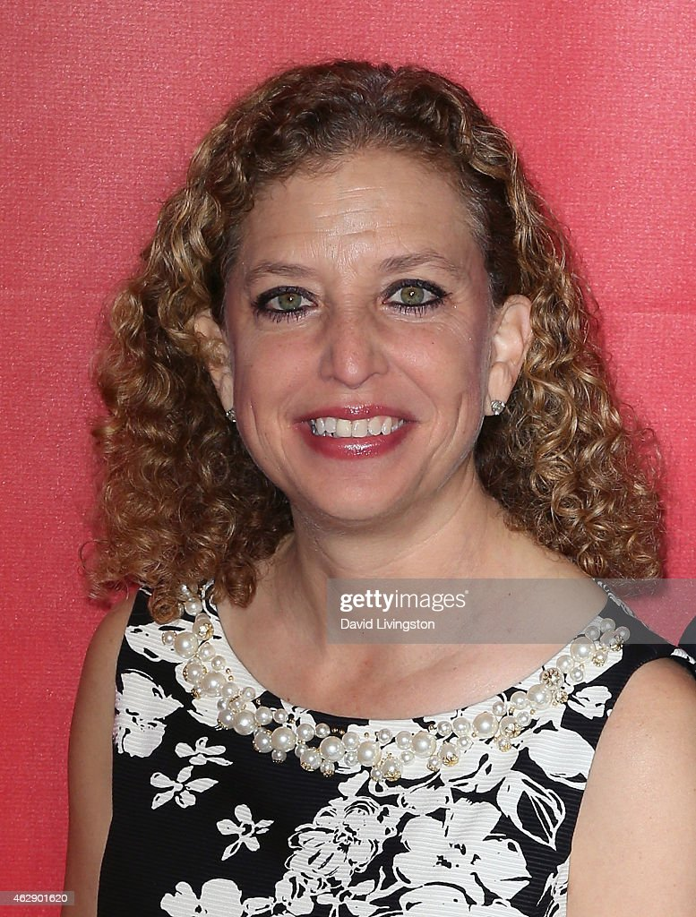 Congresswoman <a gi-track='captionPersonalityLinkClicked' href=/galleries/search?phrase=Debbie+Wasserman+Schultz&family=editorial&specificpeople=2528330 ng-click='$event.stopPropagation()'>Debbie Wasserman Schultz</a> attends the 2015 MusiCares Person of the Year Gala honoring Bob Dylan at the Los Angeles Convention Center on February 6, 2015 in Los Angeles, California.