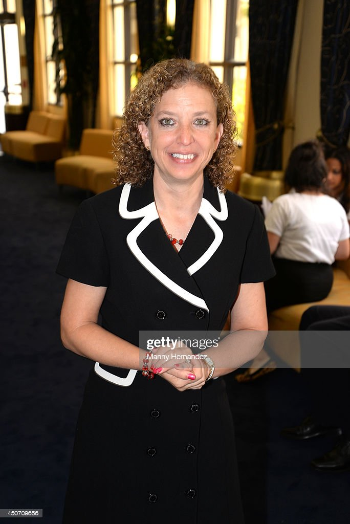 Congresswoman <a gi-track='captionPersonalityLinkClicked' href=/galleries/search?phrase=Debbie+Wasserman+Schultz&family=editorial&specificpeople=2528330 ng-click='$event.stopPropagation()'>Debbie Wasserman Schultz</a> participates in Voto Latino Power Summit 2014 at Florida International University on June 14, 2014 in Miami, Florida.