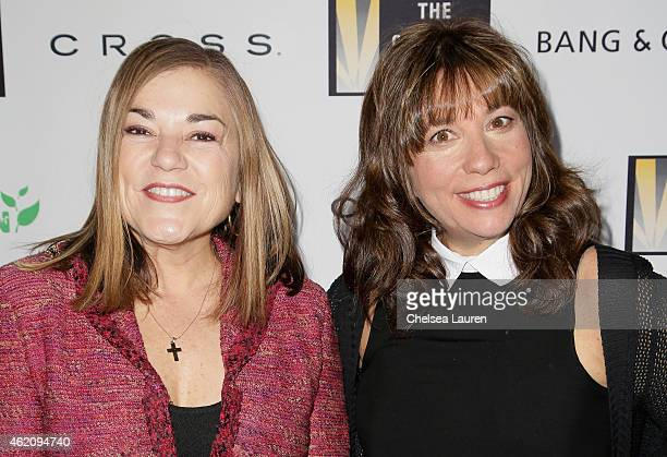 Congresswoman Loretta Sanchez and The Creative Coalition CEO Robin Bronk attend The Creative Coalition's 'Teachers Making A Difference' Awards...