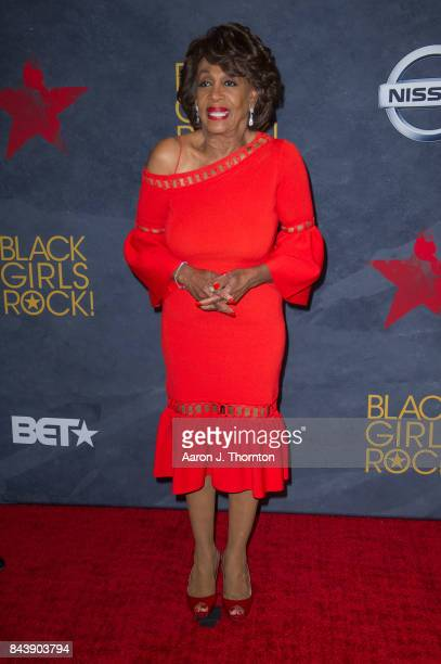 Congresswoman Maxine Waters attends Black Girls Rock at New Jersey Performing Arts Center on August 5 2017 in Newark New Jersey