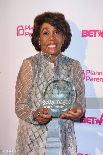 Congresswoman Maxine Waters poses at the 6th Annual Planned Parenthood Champions of Women's Health Brunch at The Hamilton on September 23 2017 in...