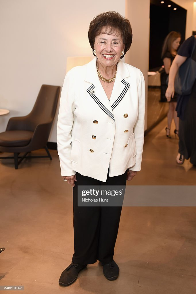 Congresswoman Nita Lowey attends a luncheon hosted by Glamour and Facebook to discuss the 2016 election at Samsung 837 in NYC on July 11 2016 in New...