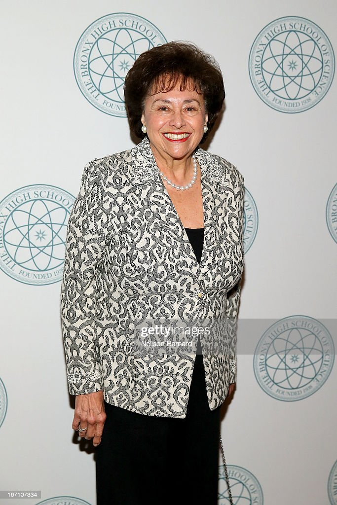 Congresswoman <a gi-track='captionPersonalityLinkClicked' href=/galleries/search?phrase=Nita+Lowey&family=editorial&specificpeople=878051 ng-click='$event.stopPropagation()'>Nita Lowey</a> attends at The Bronx High School Of Science Celebrates 75 Years With Gala Event at The Waldorf=Astoria on April 20, 2013 in New York City.