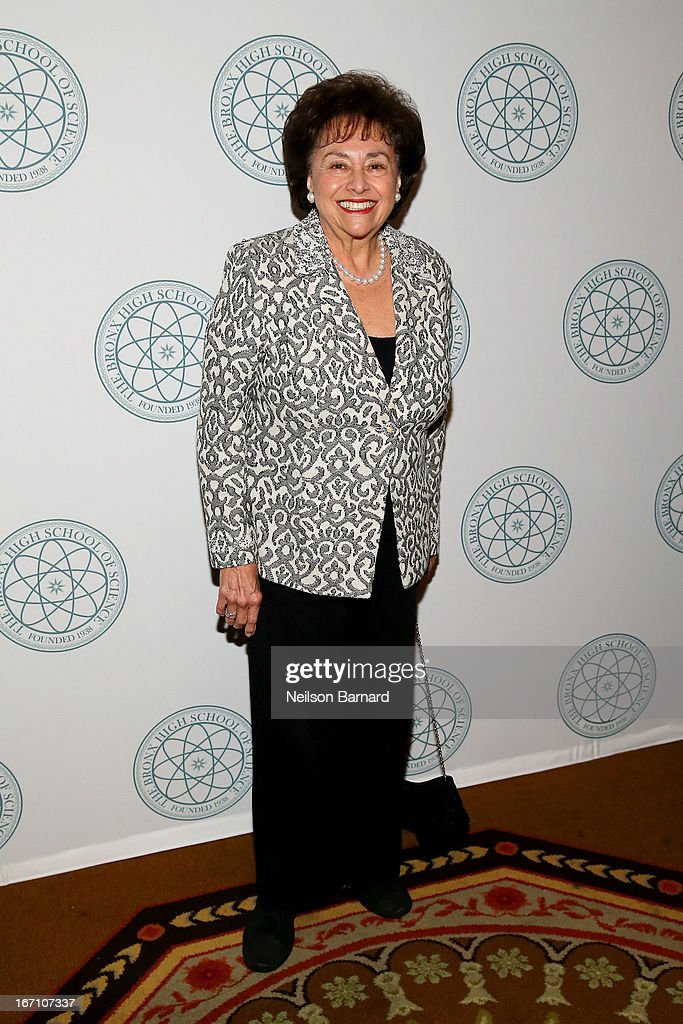 Congresswoman Nita Lowey attends at The Bronx High School Of Science Celebrates 75 Years With Gala Event at The Waldorf=Astoria on April 20 2013 in...