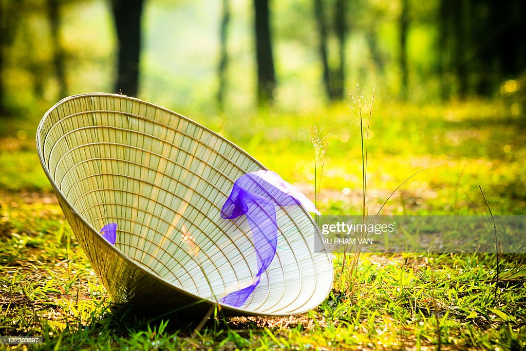 Conical hat on hill